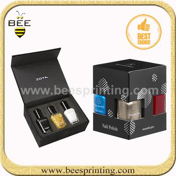 Custom Print Packaging Nail Polish Box High Quality Printed Cosmetic Boxes