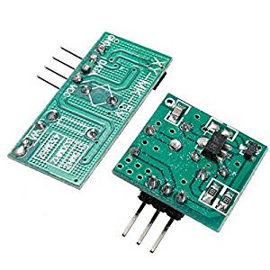 Beautyforall 433Mhz RF Transmitter With Receiver Kit For Arduino ARM MCU Wireless