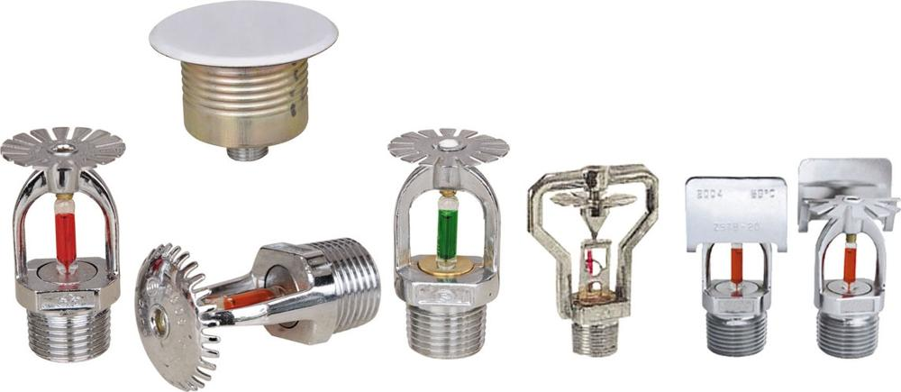 Market popular Mini Fire Sprinkler with Glass Bulb and Spray Nozzle