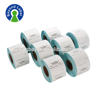 CMYK color printing removable adhesive paper supermarket shelf label