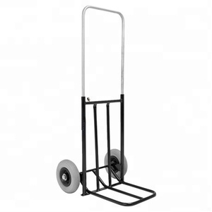 Easy folding hand trolley