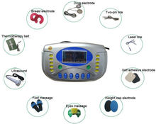 2017 new physiotherapy approved tens ems unit massager