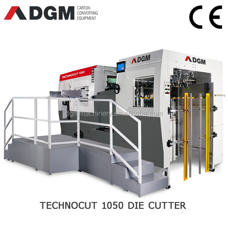 DGM TECHNOCUT Automatic flatbed die cutting and creasing machines