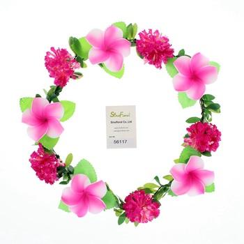 3accb123 Precio De Fábrica Colorido Hawaii Flor Cuerdas Guirnaldas Flor Hawaiana Lei  Coronas De Flores #56117 - Buy Etiqueta: Decoración De La Boda | ...