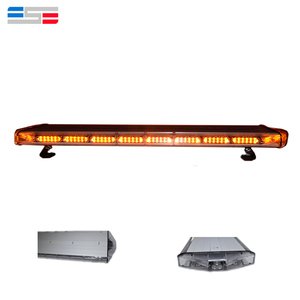 Warning strobe amber led flashing light bar