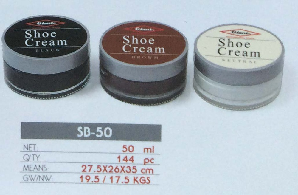 China re-color white cream shoe polish factory