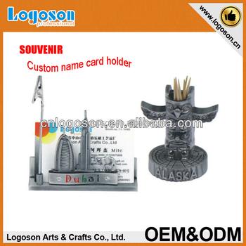 Oem 100% High Quality Guarantee Engraving Zinc Alloy Name Card Holder  Souvenir - Buy Name Card Holder Souvenir,Souvenir Photo Holder,Souvenir  Coin