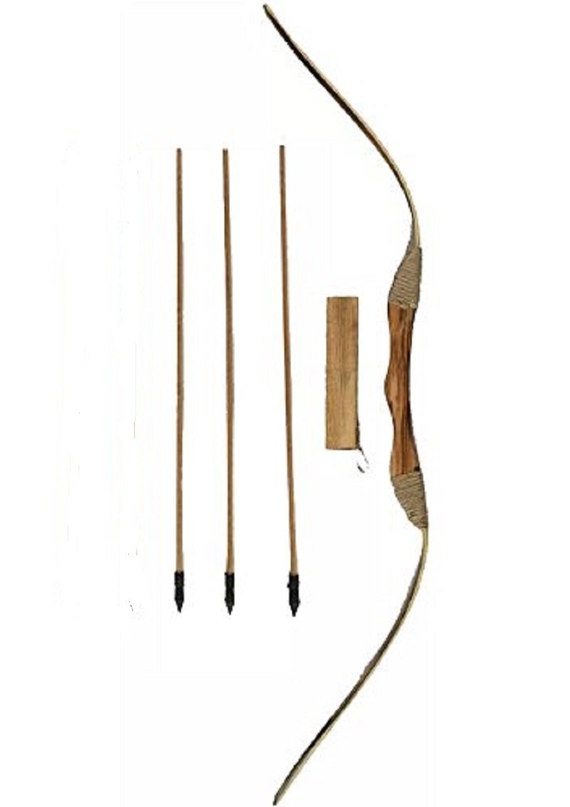 Oliasports Toy Bow and Arrow Set with 3 Arrows