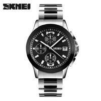 wholesale price oem watch manufacturer stianless steel water resistant quartz watch