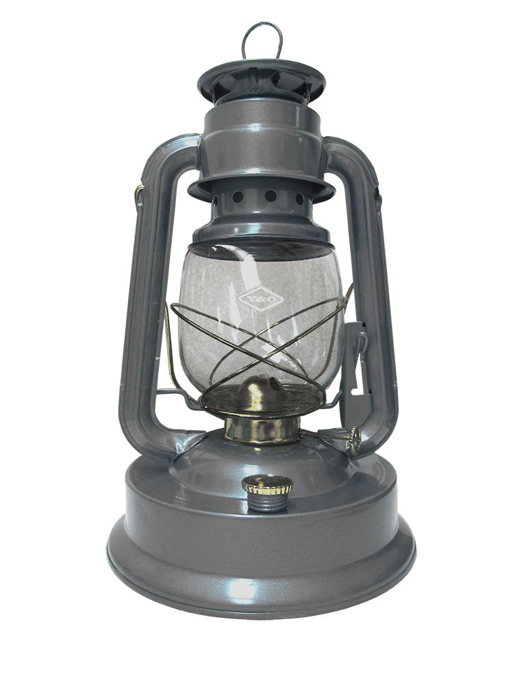 V & 0 12-Inch Oil/Kerosene Tank Lantern, Large