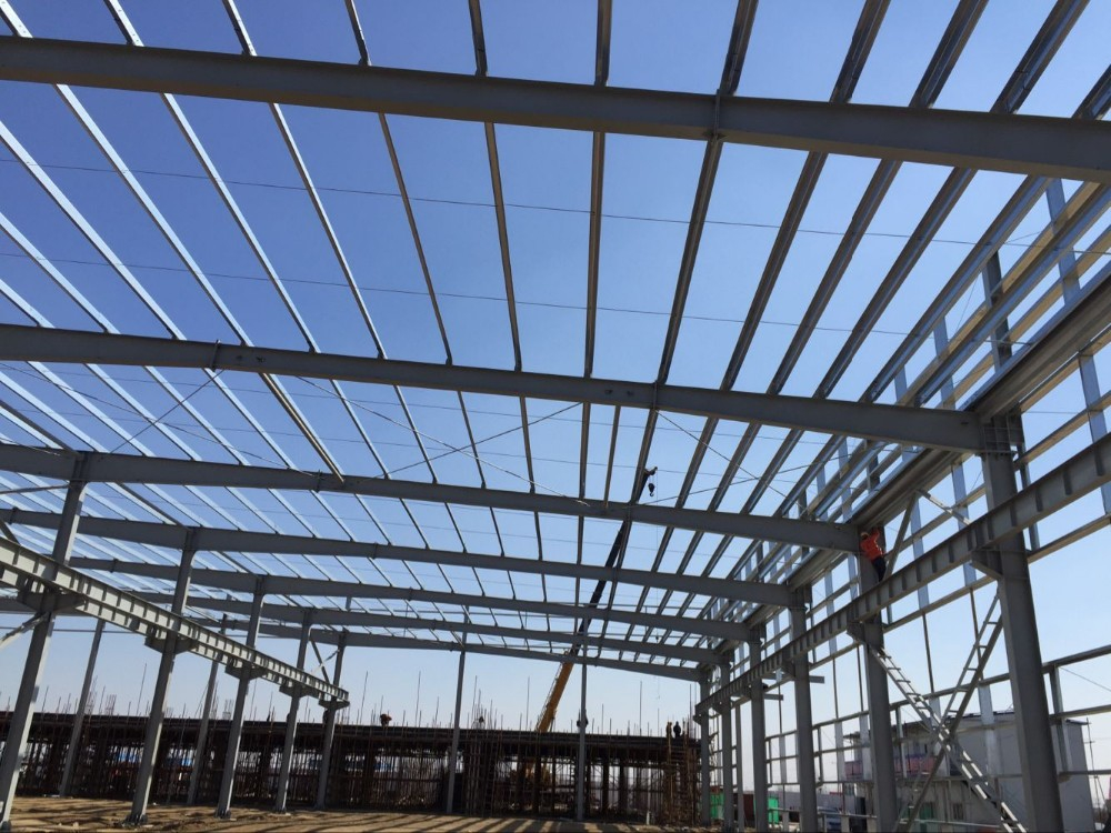 Good appearance and fast construction steel structure warehouse
