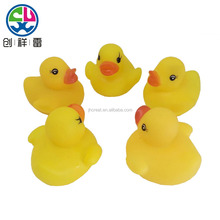 Floating pink pvc duck /rubber duck with custom design