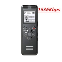 Professional 16GB Long time Recording Voice Activated Dictaphone Call Hidden Audio Recording Devices Mini Digital Voice Recorder