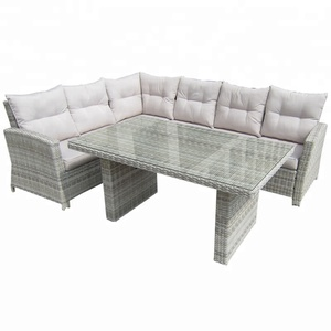 Patio Garden Furniture Comfortable rattan outdoor sofa set