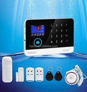 Alibaba hot selling wireless GSM 3G anti theft alarm system for home security