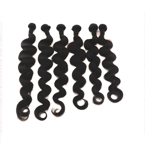 Accept bulk order wholesale price 10a virgin brazilian body wave human hair 22