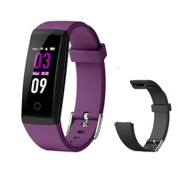 W8 adjustable wristband Sleep monitor waterproof fitness band IPS Color display health tracker smart band watch
