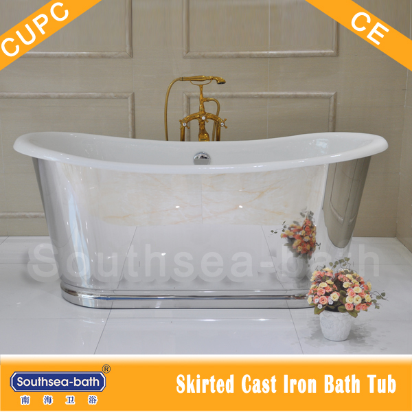 Nh-1008-10-8k Cast Iron Tub Stainless Steel Skirt With Specular ...