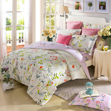 brand new design promotional cotton hand block printed bed sheets