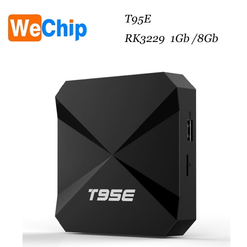 T95E Android TV Box RK3229 Quad Core Cor tex A7 1.5GHz 1GB/8GB hot selling in Alibaba