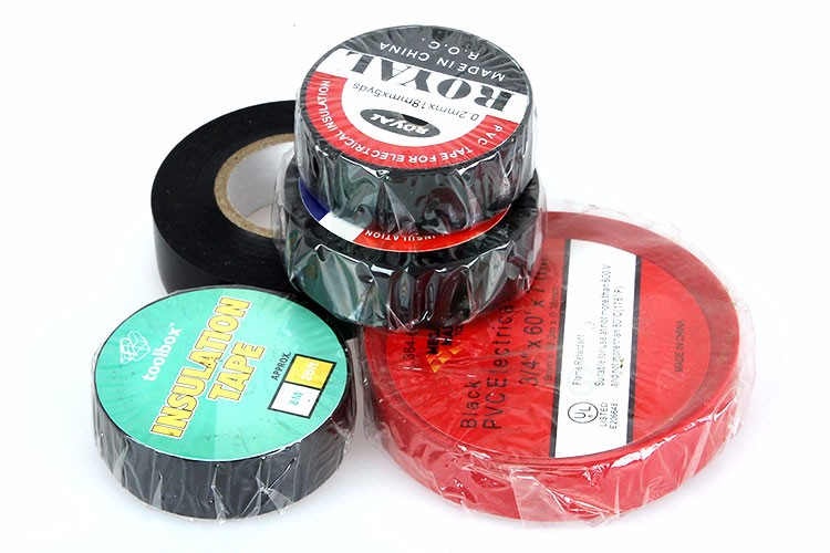 Insulation Tape Custom Multi-color Electrical Tape New 2019 Single Sided Pvc LOW Voltage