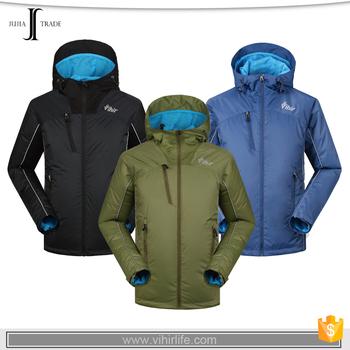 a1143276e JJ-7517902 hooded hiking custom windproof fashion warm windbreaker men  outdoor jacket waterproof Tape sealed