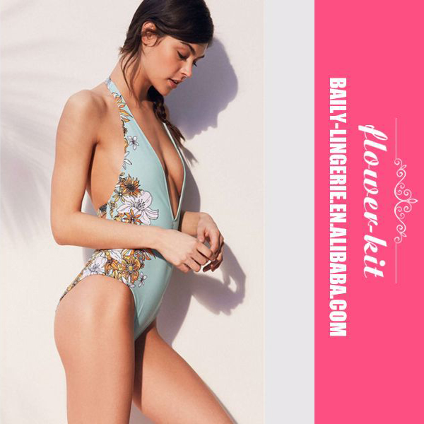Sports & Entertainment Clever Factory One Piece Surfing Swimsuit Women Swim Wear Printed Floral Sleeveless Zipper Vintage Bathing Suit Women 2017 Wholesale