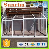 factory design aluminum sun room/winter garden 3 season room decorating ideas