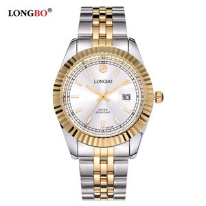 Luxury Japanese Movement Quartz Wrist Stainless Brand Online Sexy Steel band Date Fashion Men and Couple Watches In Shenzhen Fac