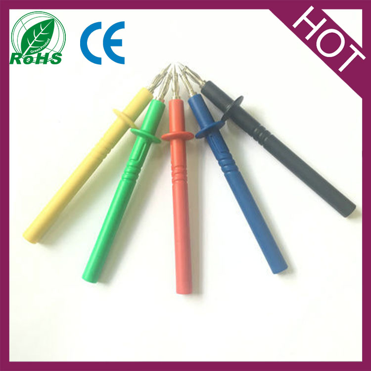 high quality test probe pin with banana plug and socket connector