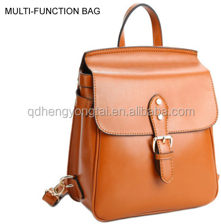 Single and double Shoulder bag multi function backpack style school college bag