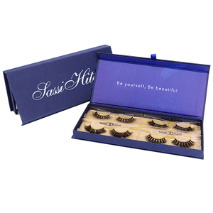 Wholesale Price Hot Sale 100 Human Hair False Eyelashes