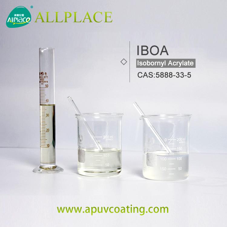 عضوي متوسط Isobornyl أكريليت 5888-33-5 IBOA مونومر