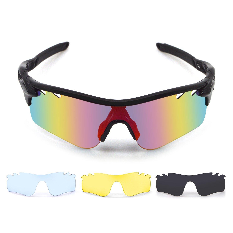 65d4e8a2ed Get Quotations · Multi Lens Outdoor Sunglasses Set