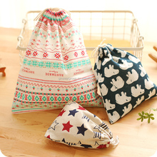 Cute New Product Decorative Pattern Drawstring Bag For KIds