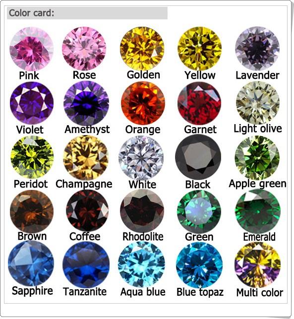 Quartz Stone Colors : Round cz double checkerboard cut gemstone rose quartz