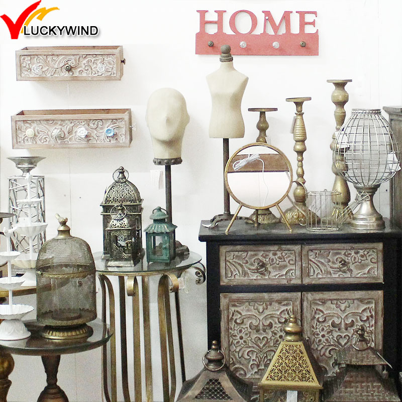 China Luckywind Handmade Wholesale Rustic Antique Vintage Home Decor ...