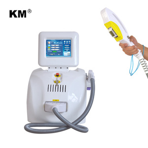 Portable Permanent OPT IPL SHR Laser Brown Hair Removal Device from Weifang KM