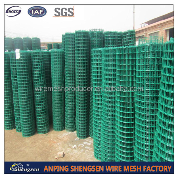 Anping Factory /green Vinyl Coated Welded Wire Mesh/3/8 Inch ...