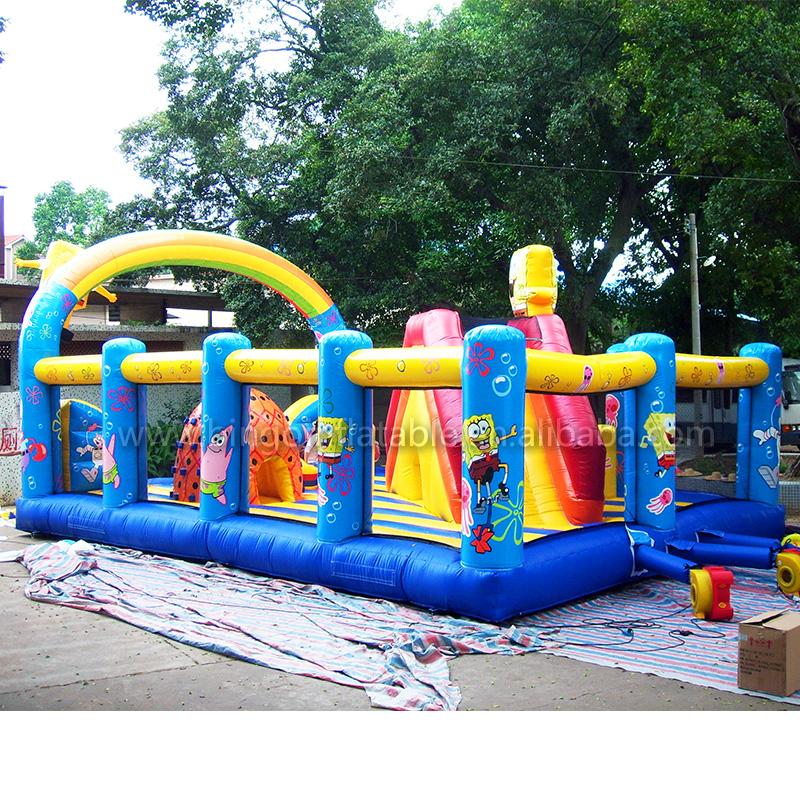Outdoor Playground Equipment Inflatable kids outdoor playground