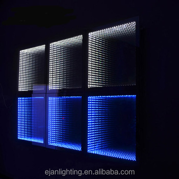 Modern Ip44 Rated Wall Mounted Led Fancy Infinity Mirrors