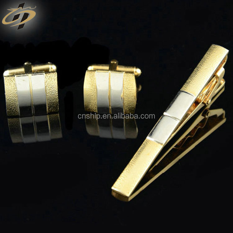 Free design your own custom brass metal soft enamel cufflinks and tie clips