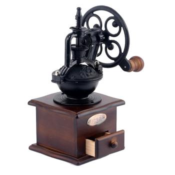 Best Antique Manual Wood Cast Iron Coffee Grinder Hand Crank Retro Coffee Grinder Mill Buy Antique Coffee Grinderretro Coffee Grinderhand Coffee
