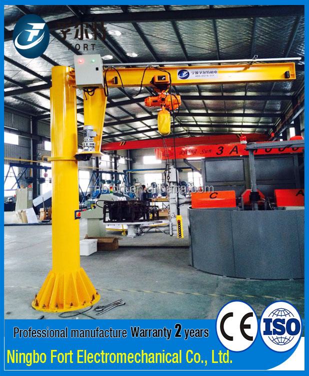 Wholesale High Quality Warehouse Lifting Weight 1t Electric Crane Jib