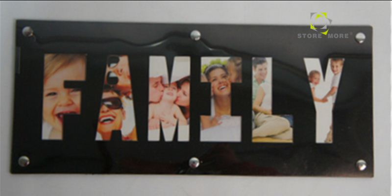 China Distributors Plastic Curved Photo Frames Wholesale