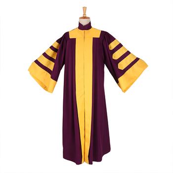 Personalizados Vestido De Graduación De Doctorado Bata Con Brazalete Mangas Buy Bata De Doctorvestido De Graduaciónuniforme De Escuela Primaria