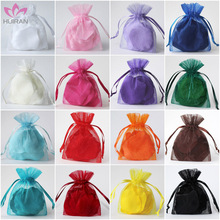 10 sizes 23 colors In stock China Organza Bag