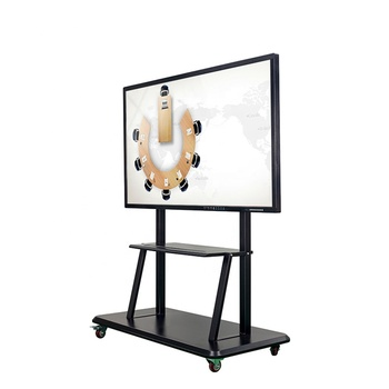 High Quality 75 Inch Intelligent Interactive Touch Screen Monitor All In One PC Flat Panel For The Meeting Room