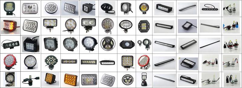 ความปลอดภัย 10W รถ Spot รูปไข่ LED ทำงาน 80V super bright 4D
