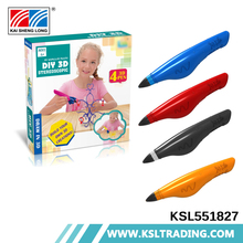 High quality hot items kids play toys printer 3d pen drawing game